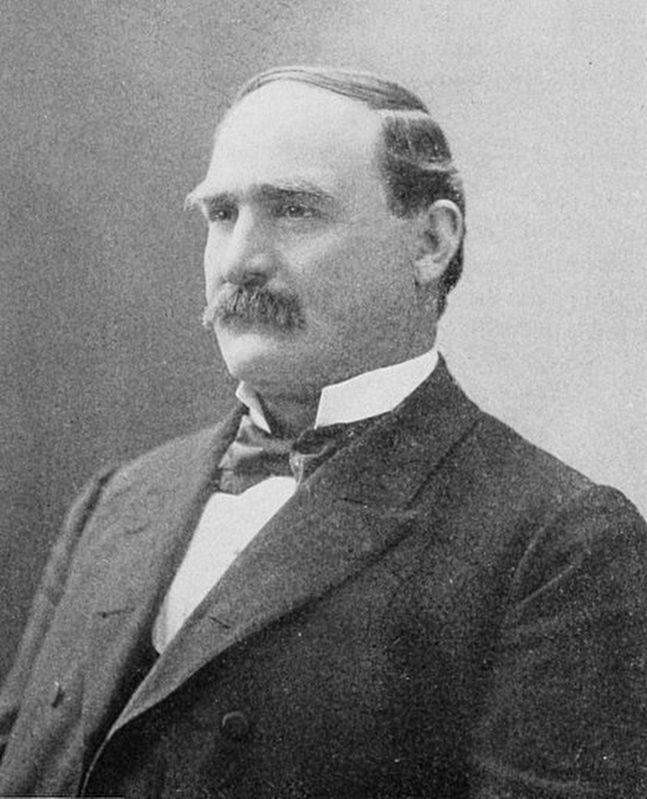 William Joseph DeBoe (June 30, 1849 – June 15, 1927) image. Click for full size.