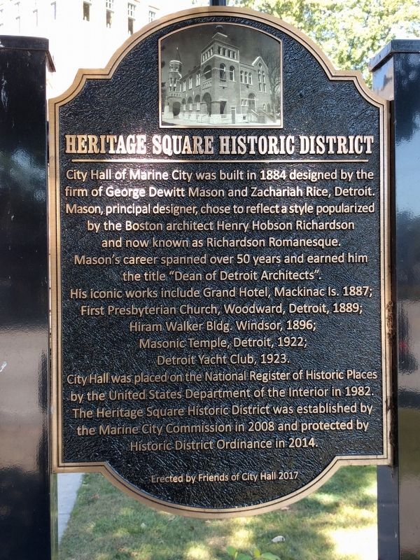 Heritage Square Historic District Marker image. Click for full size.