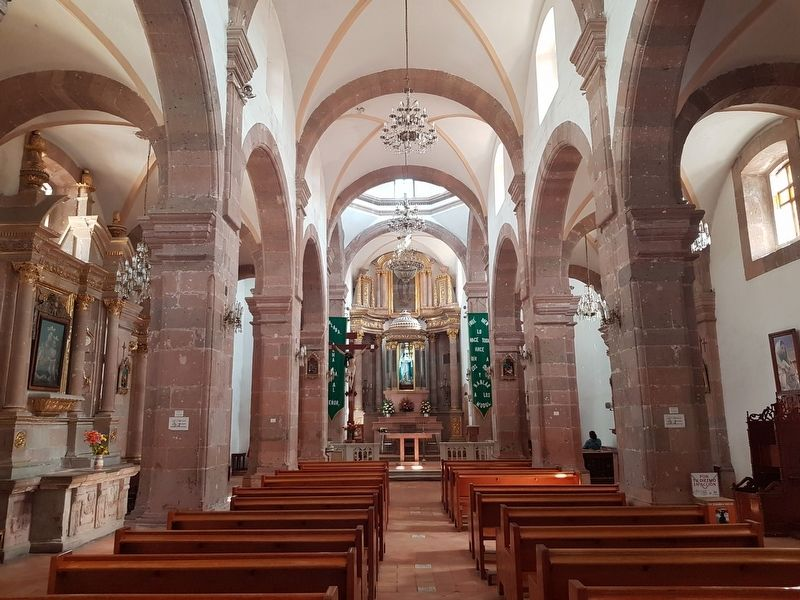 An interior view of the Church of the Tercera Orden image. Click for full size.