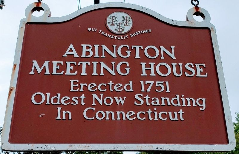 Abington Meeting House Marker image. Click for full size.