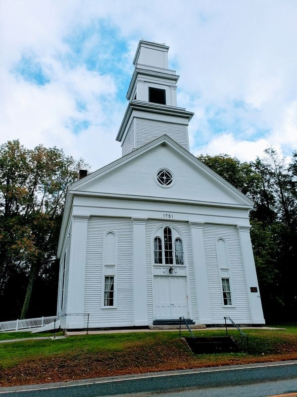 Abington Congregational Meeting House image, Touch for more information