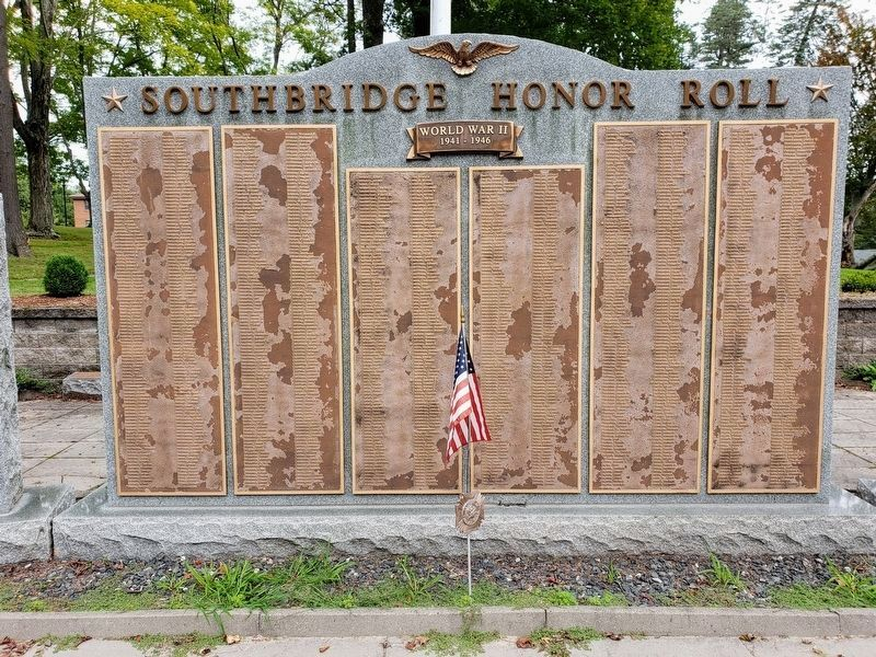 Southbridge Honor Roll - center panel image. Click for full size.