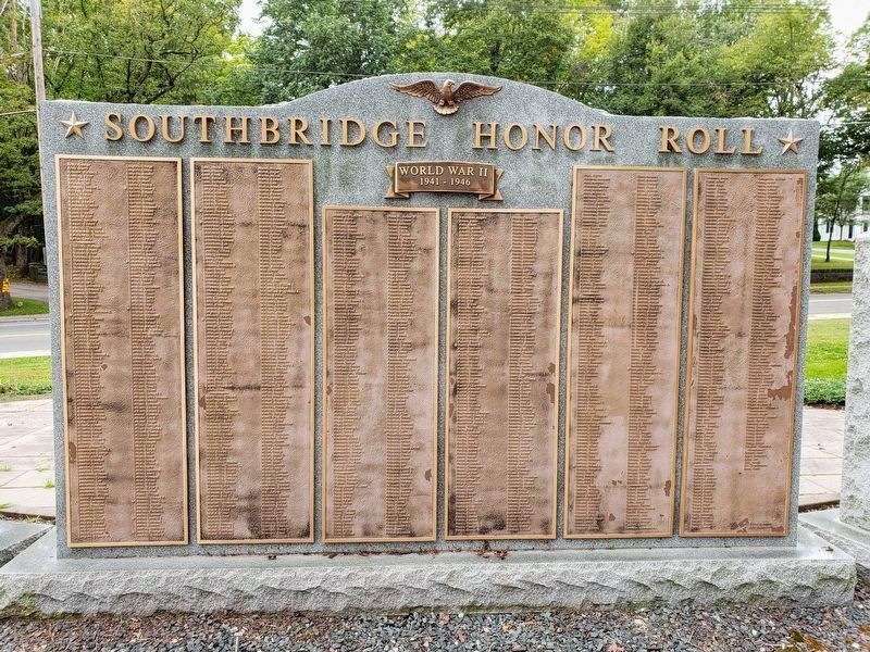 Southbridge Honor Roll - back panel image. Click for full size.