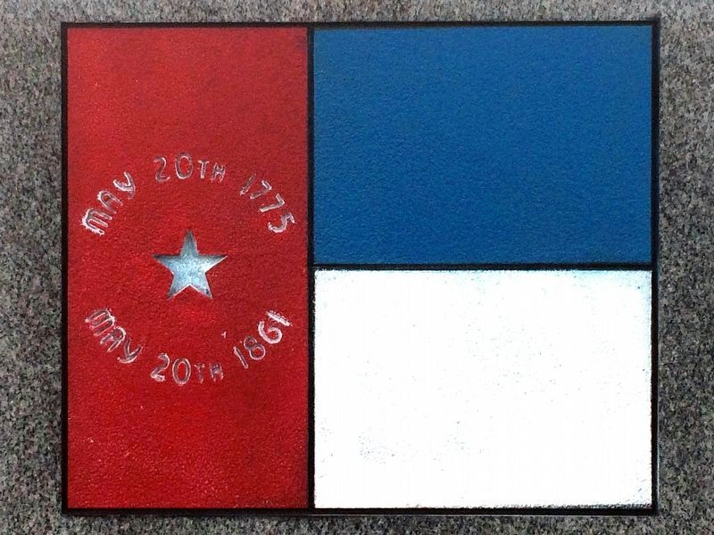 North Carolina Confederate State Flag<br>May 20th 1775<br>May 20th 1861 image. Click for full size.