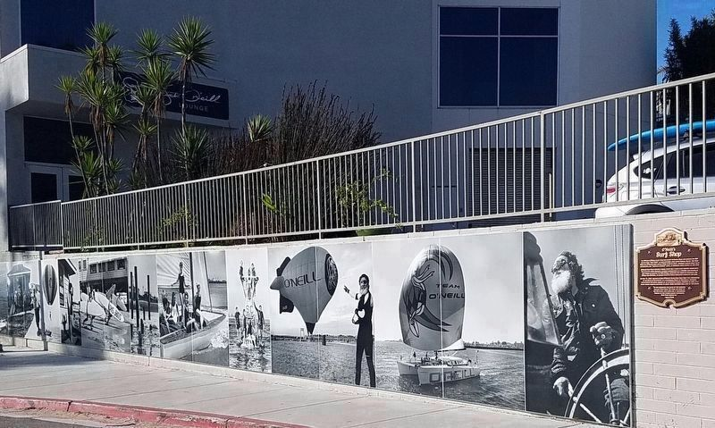 O'Neill Mural and Marker image. Click for full size.