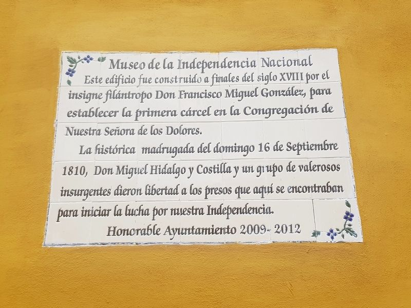 National Independence Museum Marker image. Click for full size.