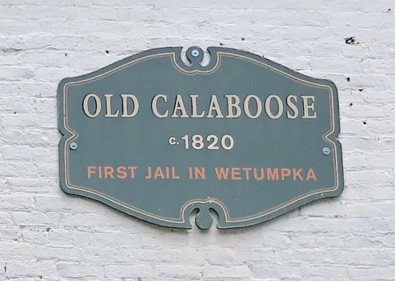 Old Calaboose Marker image. Click for full size.