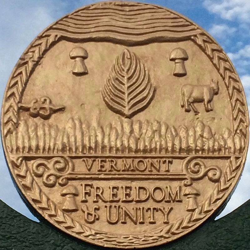 State Seal of Vermont<br>Freedom & Unity image. Click for full size.