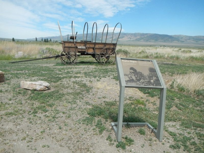 Replica Wagon Marker image. Click for full size.