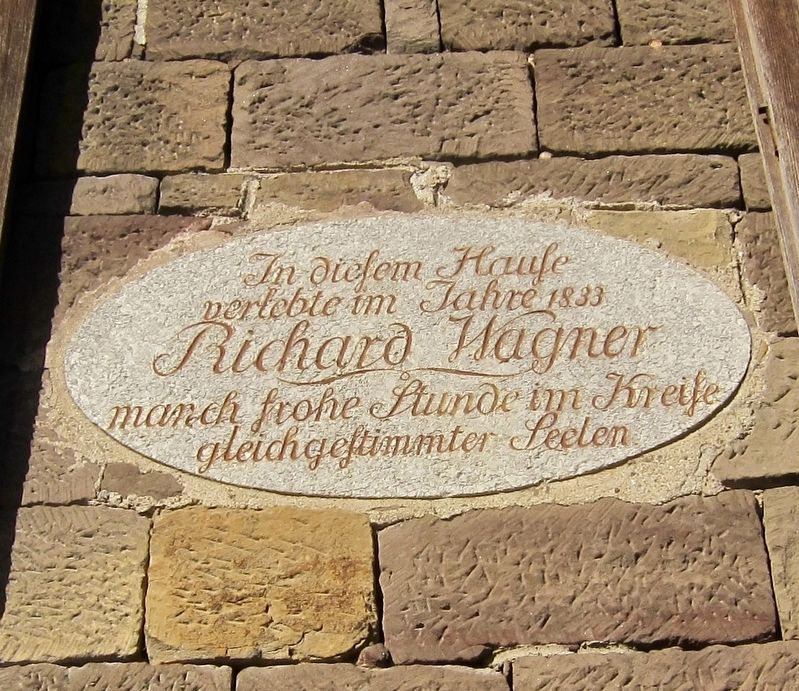 Richard Wagner Marker image. Click for full size.
