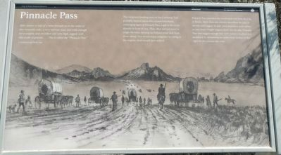 Pinnacle Pass Marker image. Click for full size.