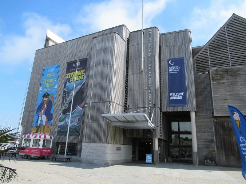 National Maritime Museum Cornwall image. Click for full size.