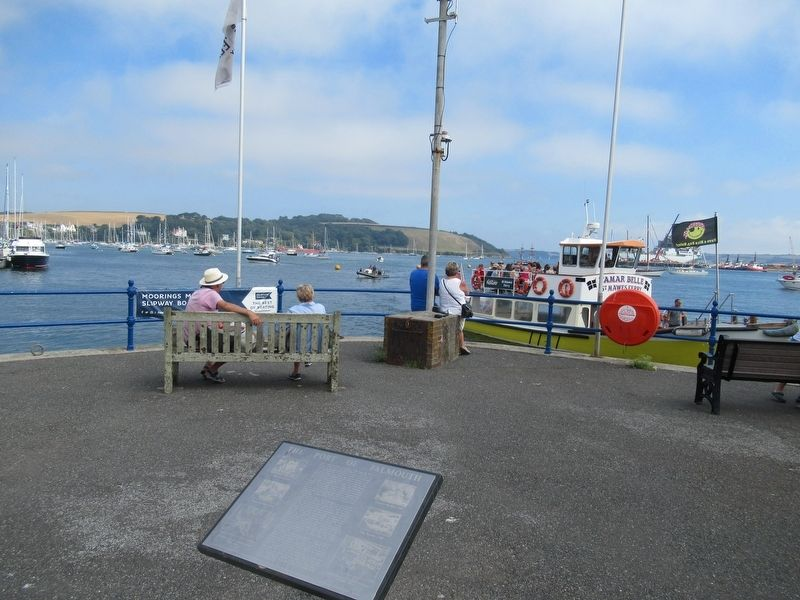 The Port of Falmouth Marker image. Click for full size.