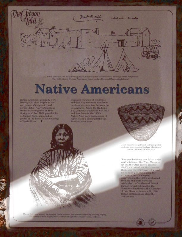 Native Americans panel image. Click for full size.