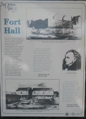 Fort Hall panel image. Click for full size.