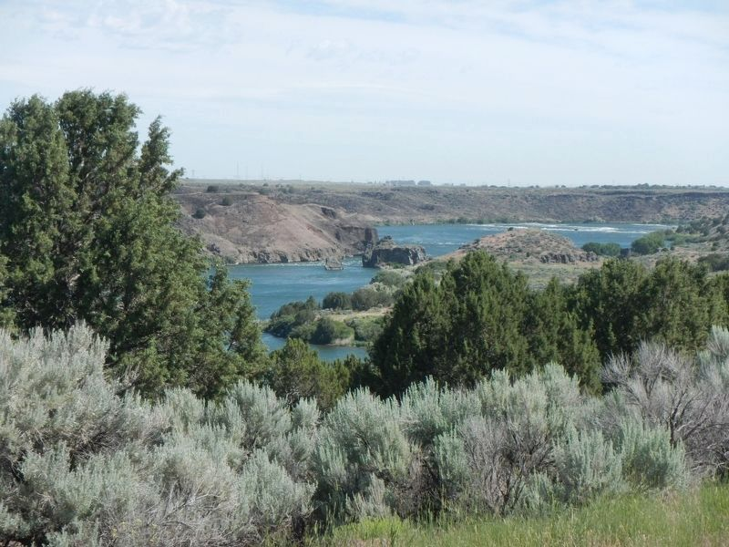 View of the Snake River from the Kiosk image. Click for full size.
