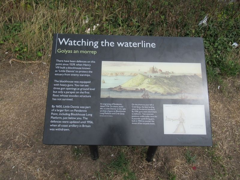 Watching the waterline Marker image. Click for full size.