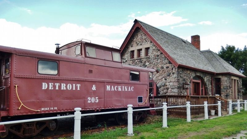 Historic Standish Depot (<i>north side</i>) image. Click for full size.