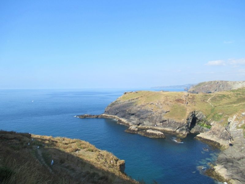 The Harbour at Tintagel Castle image. Click for full size.