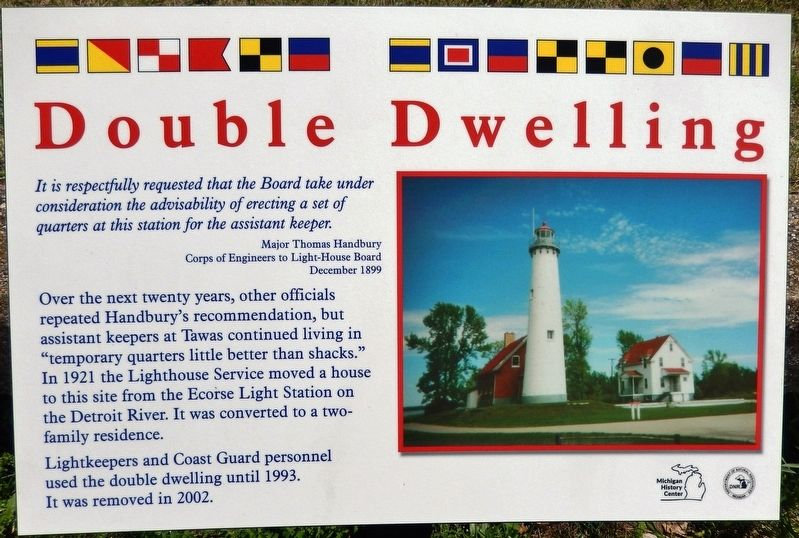 Double Dwelling Marker image. Click for full size.