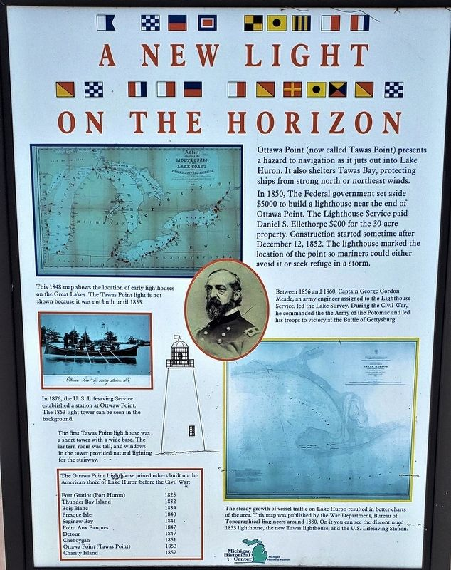 A New Light on the Horizon Marker image. Click for full size.