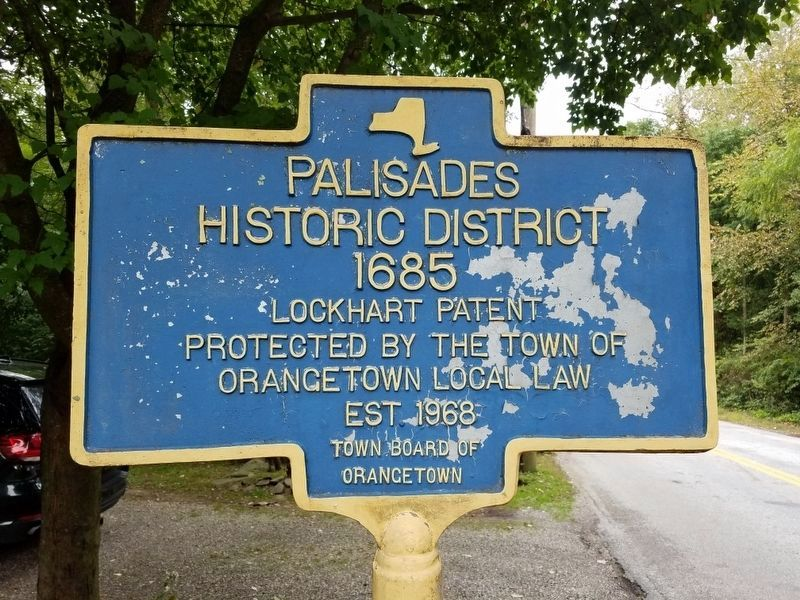 Palisades Historic District Marker image. Click for full size.