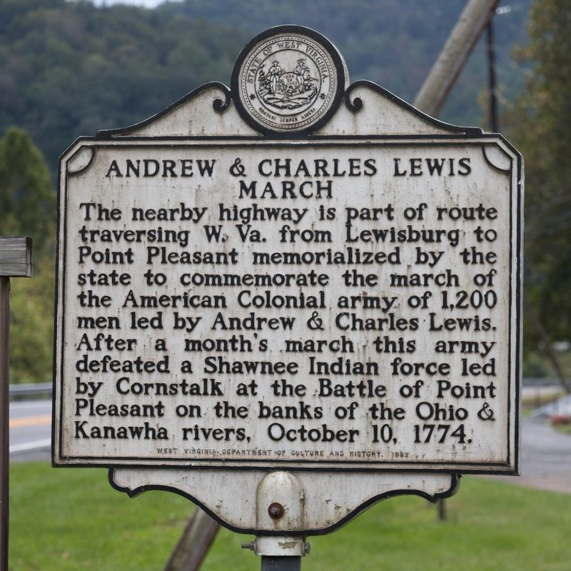 Andrew & Charles Lewis March Marker image. Click for full size.