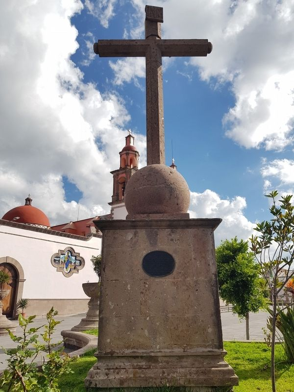 The Cross of Polotitlán and Marker image. Click for full size.