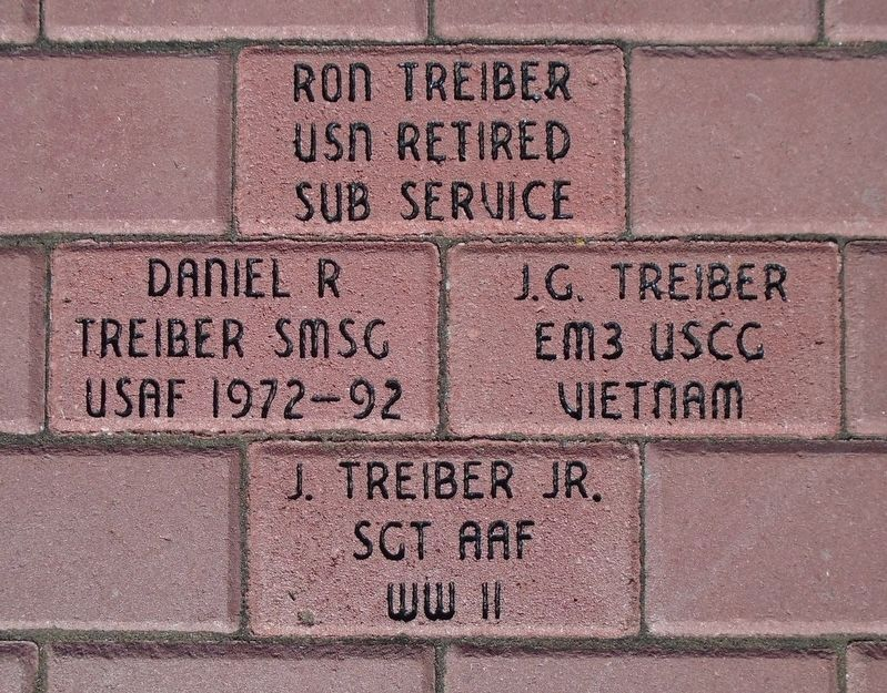 Veterans Memorial Representative Pavers image. Click for full size.