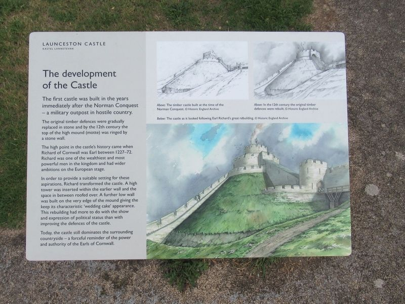 The development of the Castle Marker image. Click for full size.