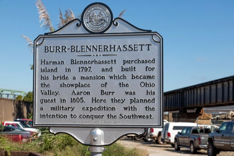 Burr-Blennerhassett Marker image. Click for full size.