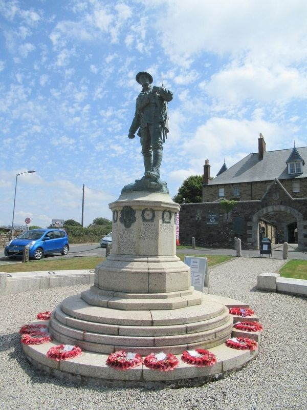 Duke of Cornwall Light Infantry Memorial image. Click for full size.