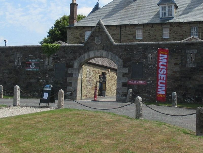 Cornwall's Regimental Museum image. Click for full size.