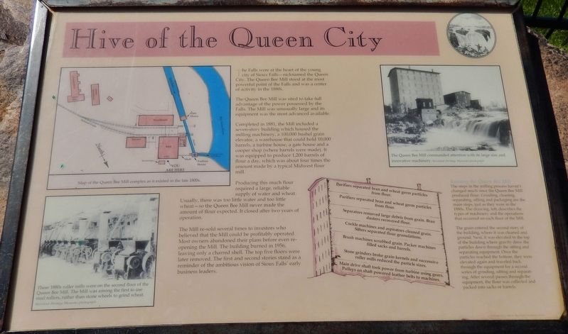 Hive of the Queen City Marker image. Click for full size.