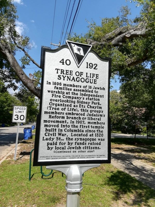 Tree of Life Synagogue Marker image. Click for full size.