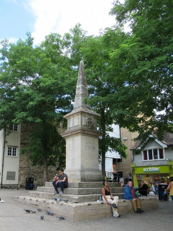 Oxfordshire Boer War Memorial image. Click for full size.