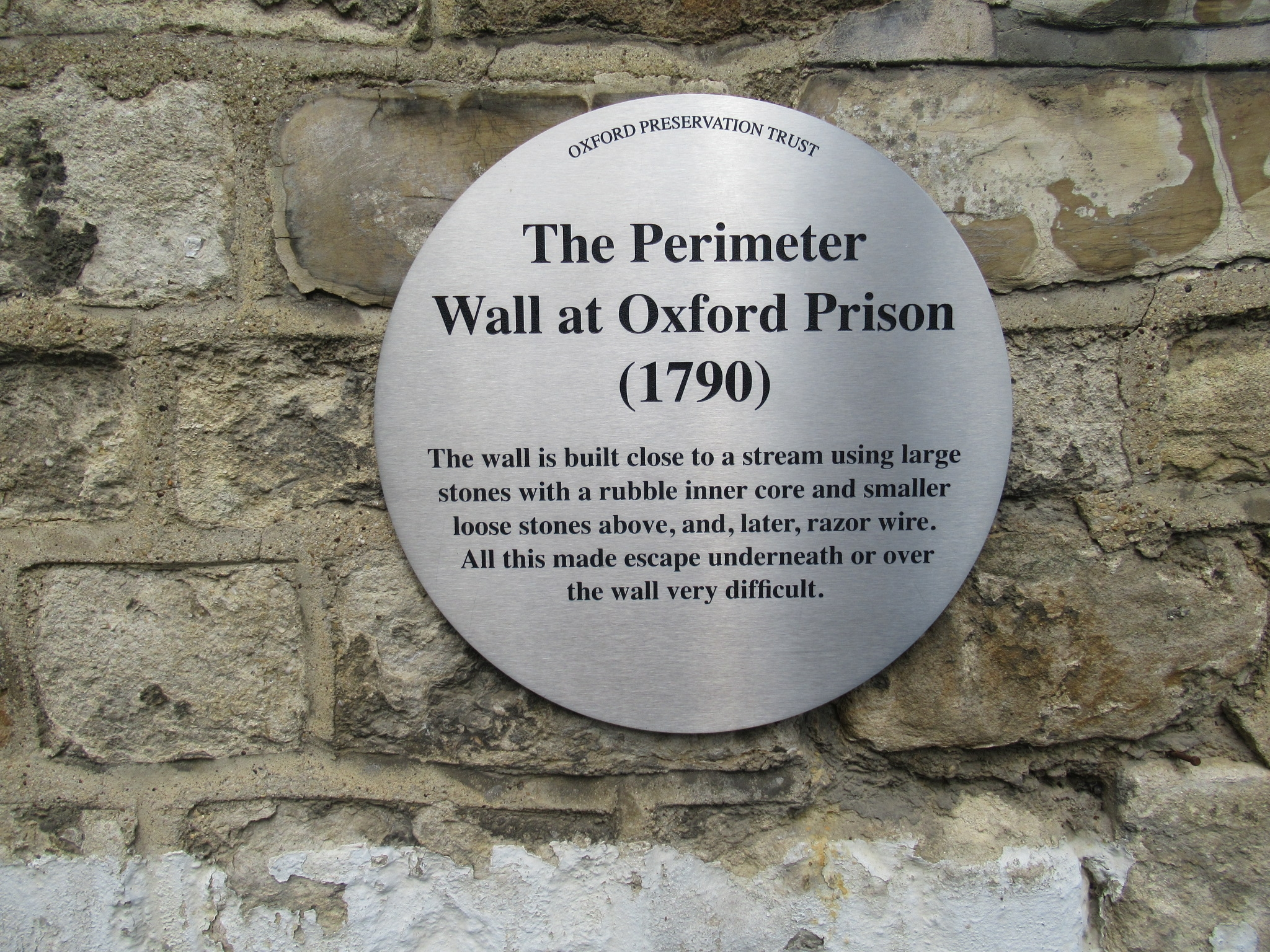 The Perimeter Wall Marker