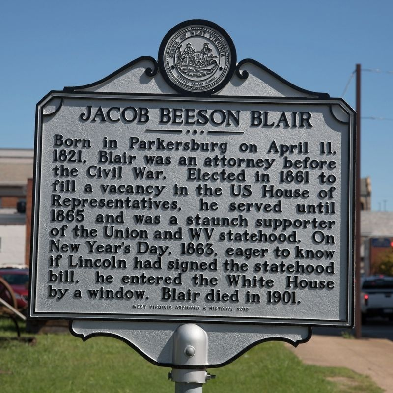 Jacob Beeson Blair Marker image. Click for full size.