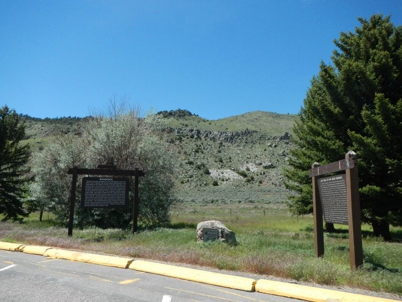 Bannack Marker image. Click for full size.