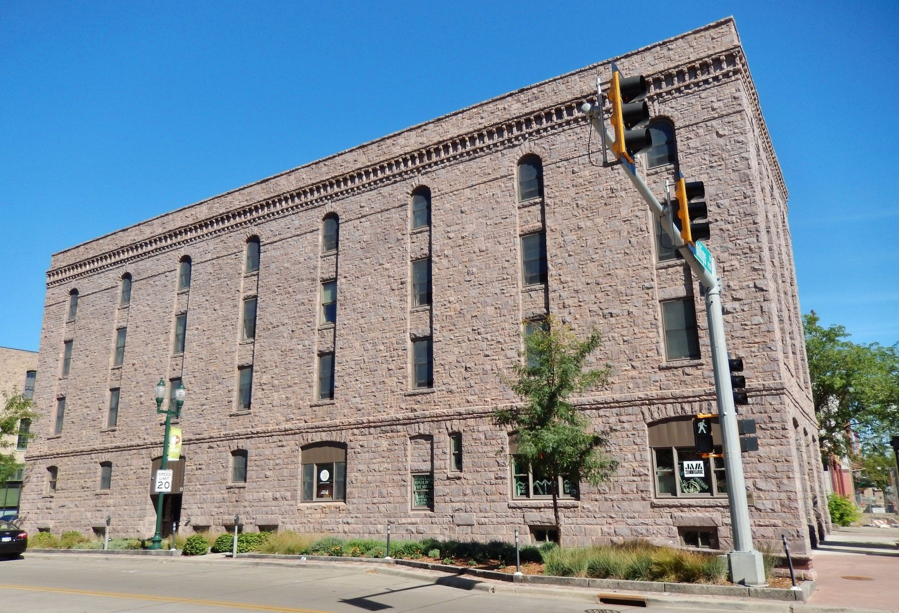 The Andrew Kuehn Company Building (<i>wide view from West 6th Street</i>) image. Click for full size.