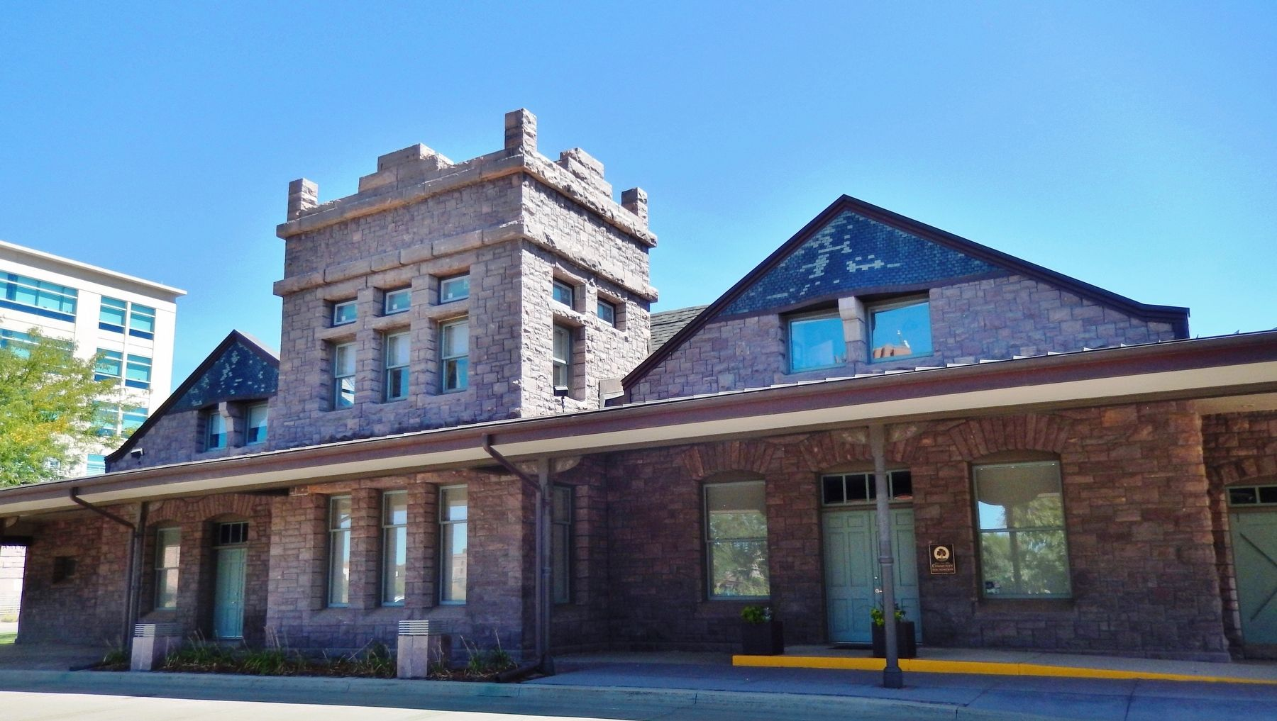 Illinois Central Depot image. Click for full size.