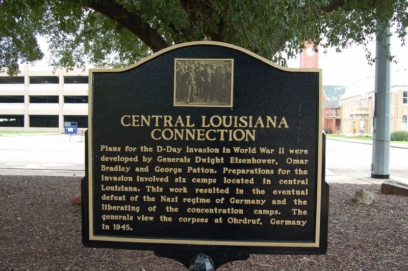 Central Louisiana Connection Marker image. Click for full size.