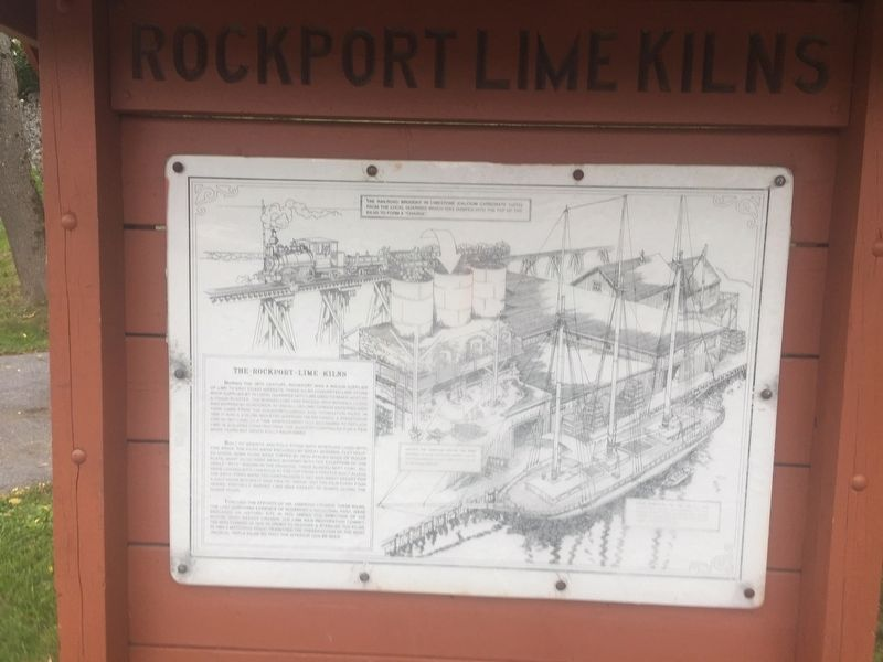The Rockport Lime Kilns image. Click for full size.