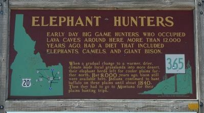 Elephant Hunters Marker image. Click for full size.