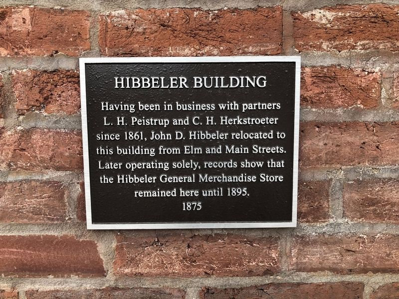 Hibbeler Building Marker image. Click for full size.