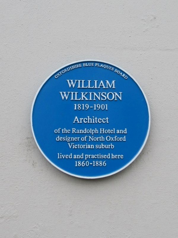William Wilkinson Marker image. Click for full size.