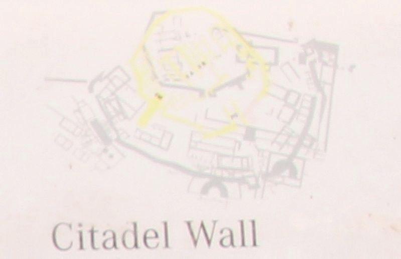 Citadel Wall Marker image. Click for full size.