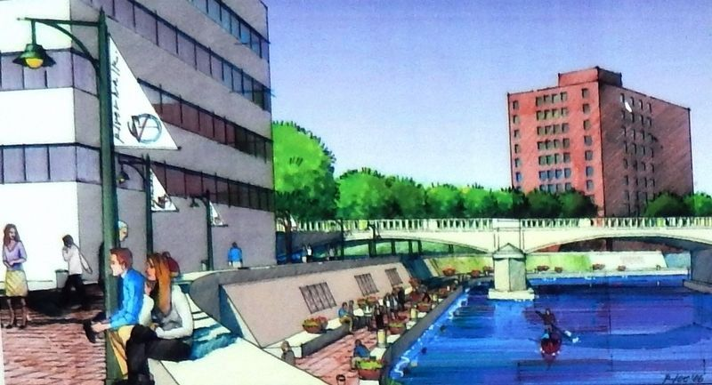 Marker detail: Greenway Masterplan rendering, 2006 image. Click for full size.
