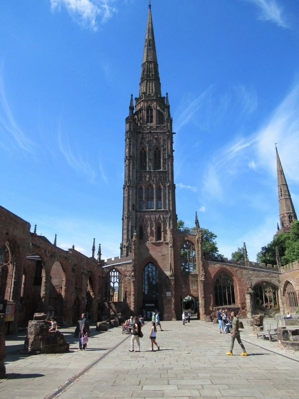 The Tower & Spire of St Michaels Cathedral image. Click for full size.