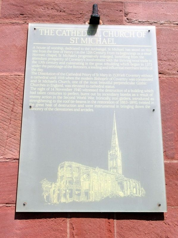 Cathedral Church of St Michael Marker image. Click for full size.